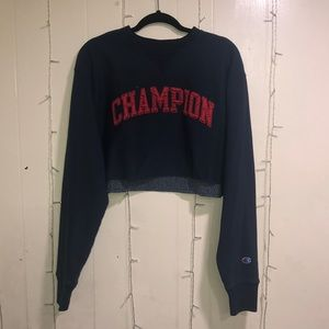 Champion embroidered crew neck
